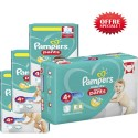 200 Couches Pampers Baby Dry Pants taille 4+ sur Sos Couches
