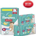 250 Couches Pampers Baby Dry Pants taille 4+ sur Sos Couches