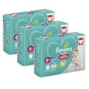 500 Couches Pampers Baby Dry Pants taille 4+ sur Sos Couches
