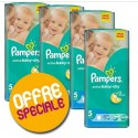 66 Couches Pampers Active Baby Dry taille 5 sur Sos Couches