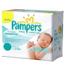528 Lingettes Bébés Pampers New Baby Sensitive - 66 Packs de 8 sur Sos Couches