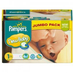 280 Couches Pampers New Baby taille 1