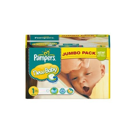 280 Couches Pampers New Baby 1 sur Sos Couches