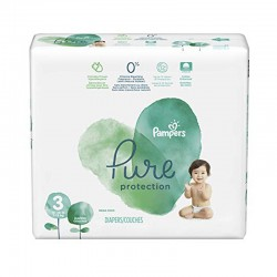 22 Couches Pampers Pure Protection taille 3