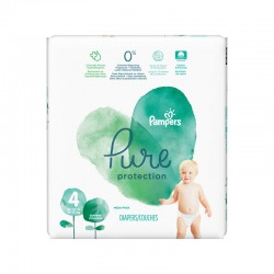 19 Couches Pampers Pure Protection taille 4