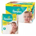 124 Couches Pampers New Baby Premium Protection taille 2 sur Sos Couches