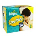 217 Couches Pampers New Baby Premium Protection taille 2 sur Sos Couches