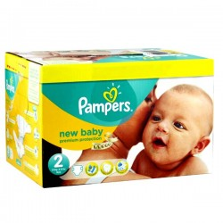 403 Couches Pampers New Baby Premium Protection taille 2