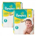 434 Couches Pampers New Baby Premium Protection taille 2 sur Sos Couches