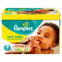 140 Couches Pampers New Baby Premium Protection taille 3 sur Sos Couches