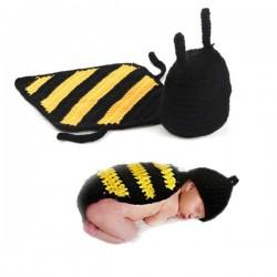 Premier ensemble nouveaux nés Choupinet Bonnet Abeille taille 0-12Mois