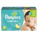 276 Couches Pampers Baby Dry taille 2 sur Sos Couches