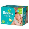 414 Couches Pampers Baby Dry taille 2 sur Sos Couches