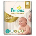 60 Couches Pampers Premium Care taille 3 sur Sos Couches