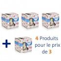 4 Bougies Parfumées Febreze Flower Bloom - 4 au prix de 3 sur Sos Couches