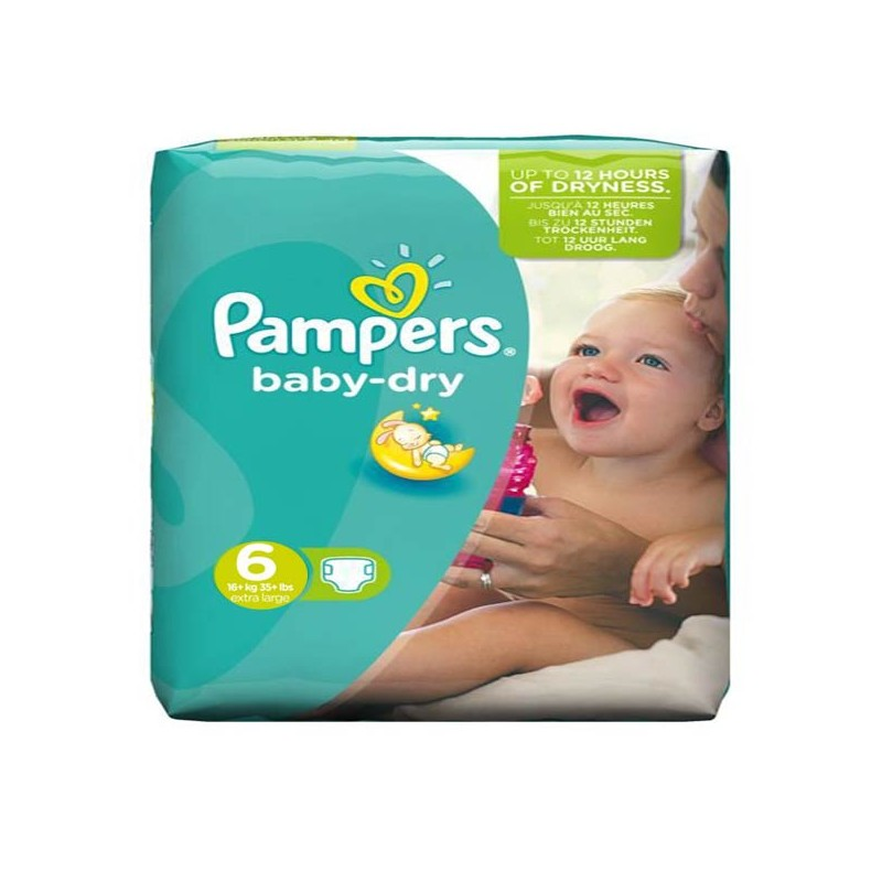 Achat 58 couches pampers baby dry taille 6 moins cher sur sos couches - Comparateur de prix couches pampers ...