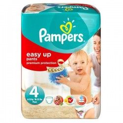 42 Couches Pampers Easy Up de taille 4 sur Sos Couches
