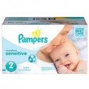 300 Couches Pampers New Baby Sensitive taille 2 sur Sos Couches