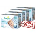 600 Couches Pampers New Baby Sensitive taille 2 sur Sos Couches