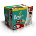 156 Couches Pampers Baby Dry Pants taille 5 sur Sos Couches