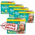 112 Couches Pampers Baby Dry taille 5+ sur Sos Couches