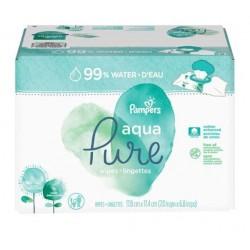 960 Lingettes Bébés Pampers Aqua Pure