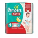 16 Couches Pampers Baby Dry Pants taille 4 sur Sos Couches