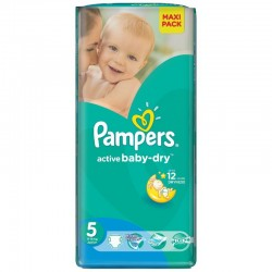 11 Couches Pampers Active Baby Dry taille 5