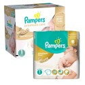 110 Couches Pampers New Baby Premium Care taille 1 sur Sos Couches