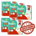 Mega pack Couches Pampers Baby Dry Pants taille 6 sur Sos Couches