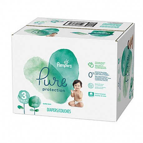 308 Couches Pampers Pure Protection taille 3 sur Sos Couches