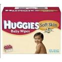 504 Lingettes Bébés Huggies Soft Skin sur Sos Couches
