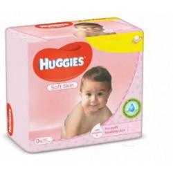 672 Lingettes Bébés Huggies Soft Skin