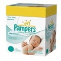 168 Lingettes Bébés Pampers New Baby Sensitive sur Sos Couches