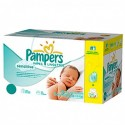 224 Lingettes Bébés Pampers New Baby Sensitive sur Sos Couches