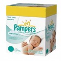 280 Lingettes Bébés Pampers New Baby Sensitive sur Sos Couches