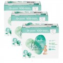 189 Couches Pampers Pure Protection taille 2 sur Sos Couches