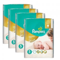 150 Couches Pampers Premium Care taille 5
