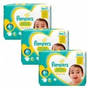 105 Couches Pampers New Baby Premium Protection taille 4+ sur Sos Couches