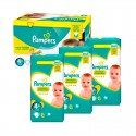 252 Couches Pampers New Baby Premium Protection taille 4+ sur Sos Couches