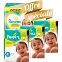 315 Couches Pampers New Baby Premium Protection taille 4+ sur Sos Couches