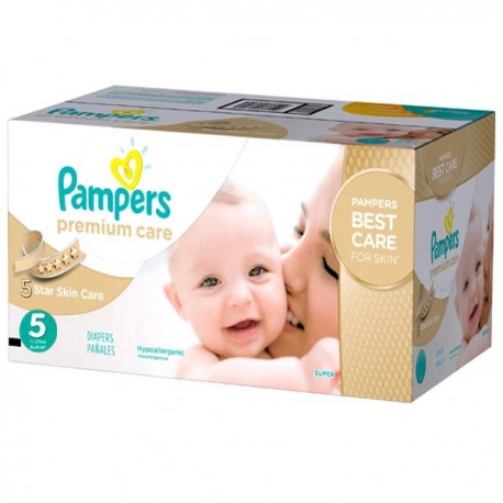 390 Couches Pampers Premium Care taille 5 sur Sos Couches