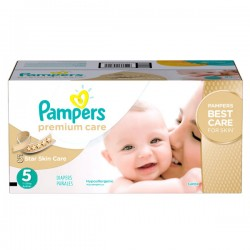 Maxi mega pack Couches Pampers Premium Care taille 5