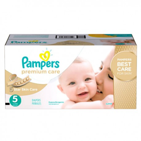 420 Couches Pampers Premium Care taille 5 sur Sos Couches