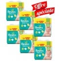 63 Couches Pampers Baby Dry taille 7 sur Sos Couches