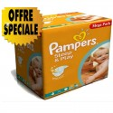 300 Couches Pampers Sleep & Play taille 4 sur Sos Couches