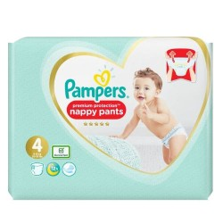 19 Couches Pampers Premium Protection Pants taille 4