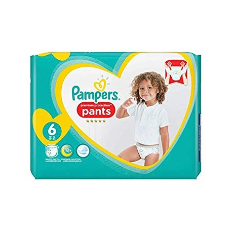 37 Couches Pampers Premium Protection Pants taille 6 sur Sos Couches