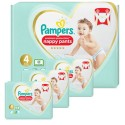 209 Couches Pampers Premium Protection Pants taille 4 sur Sos Couches