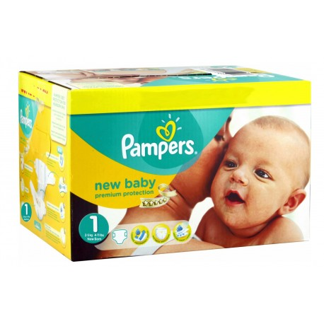 224 Couches Pampers New Baby Premium Protection taille 1 sur Sos Couches